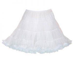 1810 Petticoat in White or Black