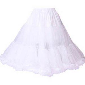 835 Chiffon Petticoat in White, Black or Red