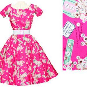 Cerise Labels 1950's Rock n Roll Dress