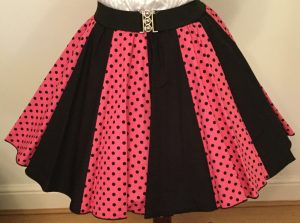 Pink / Black & Black / Pink 7mm PD Panel Skirt