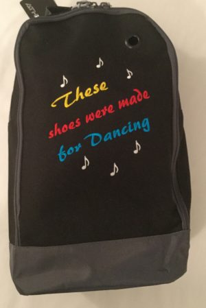 Shoe Bag - Made for Dancing